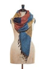 The  Curious Yak Hand Woven Scarves from Nepal - Sunrise