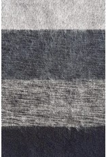 The  Curious Yak Hand Woven Scarves from Nepal - Black & Gray