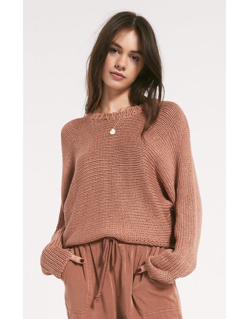 Z Supply Cipriani Sweater - Cork