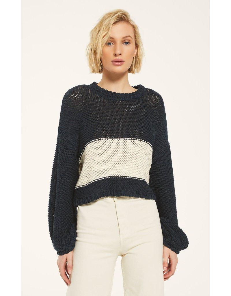 Z Supply Lafayette Sweater - Midnight Navy