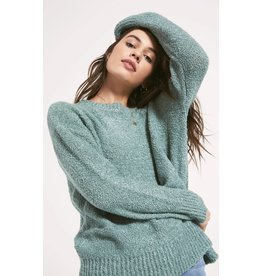 Z Supply Westbourne Sweater - Heather Aqua