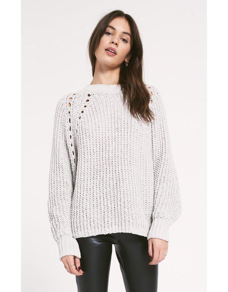 Z Supply Promenade Sweater - Grey