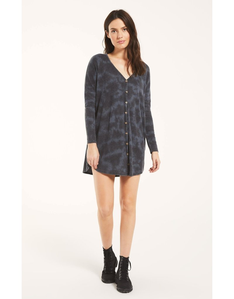 Z Supply Grove Thermal Dress - Black