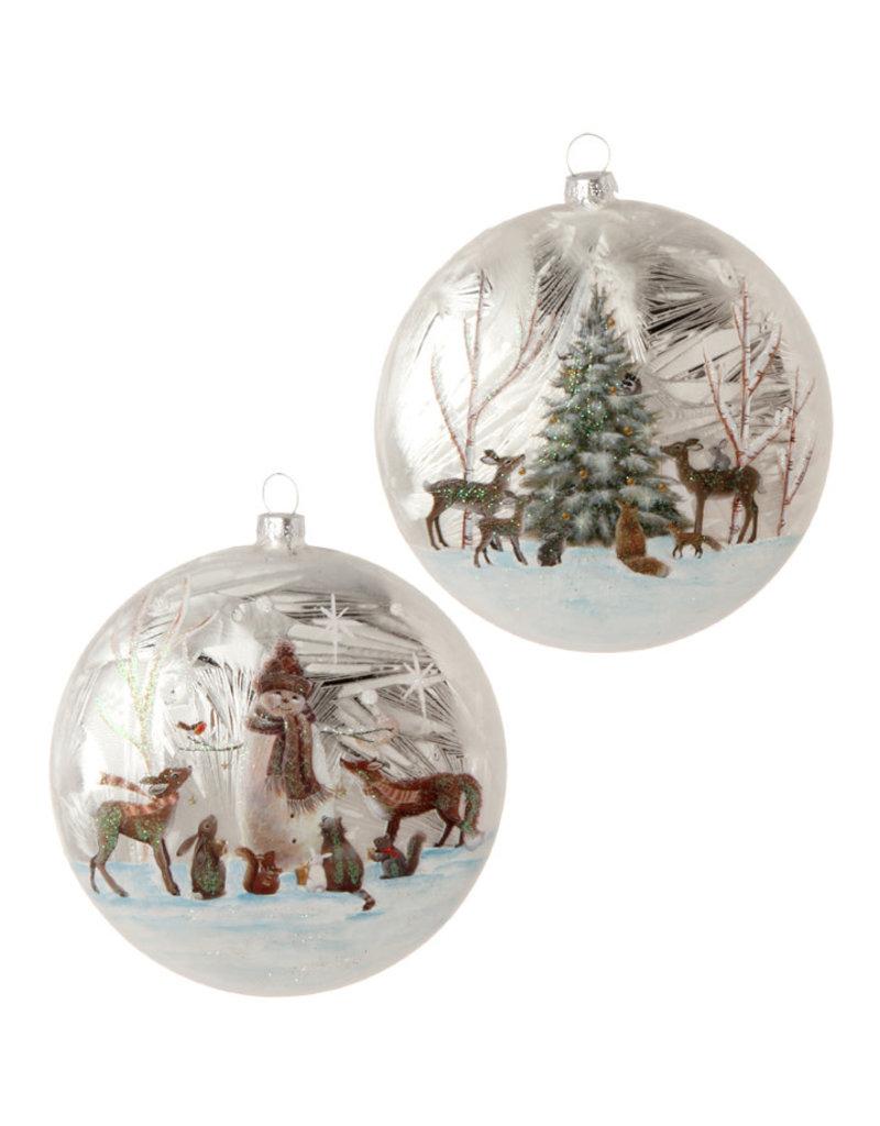 Woodland Disc Ornament