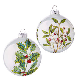 Botanical Ball Ornament