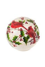 Winter Cardinal Lighted Ball