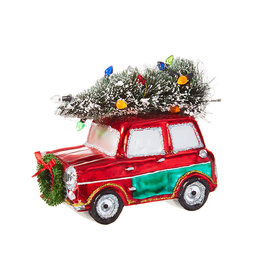 Car with Tree Ornament