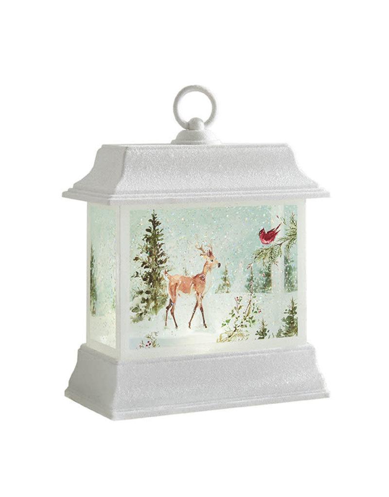 Woodland Animal Lighted Water Lantern