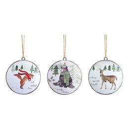 Animal Disc Ornaments