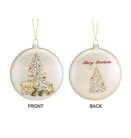 Animal/Tree Disc Ornament