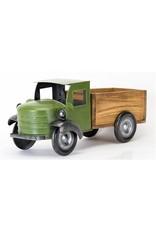 Wood/Iron Green Truck
