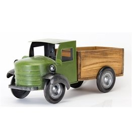 Wood/Iron Green Truck