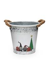 Metal Gnome Bucket