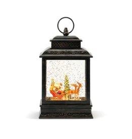 Demdaco Lit Musical Santa And Sleigh Lantern
