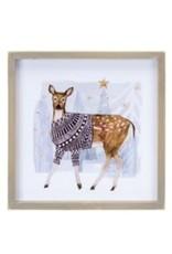 Deer/Christmas Tree Picture