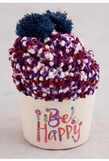 Natural Life Cupcake Sock Be Happy