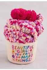 Natural Life Cupcake sock Beautiful Girl