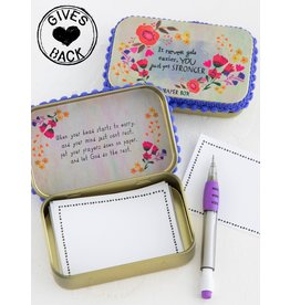 Natural Life Prayer Box - Stronger