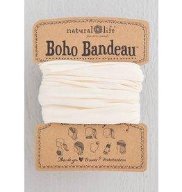 Natural Life Boho Bandeau - Solid Cream