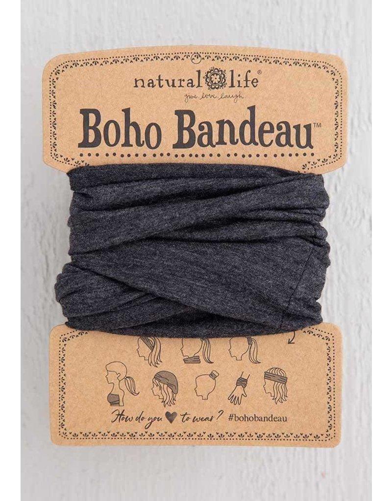 Natural Life Boho Bandeau - Heather Charcoal