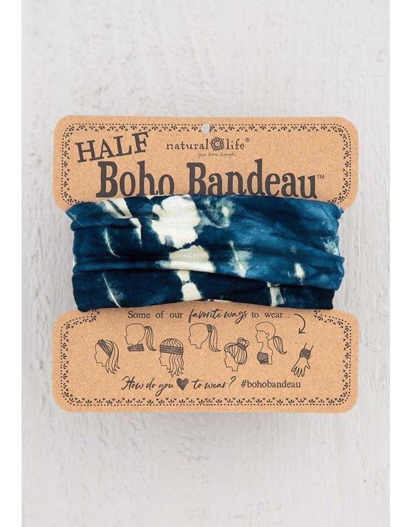 Natural Life Half Boho Bandeau - Indigo Cream