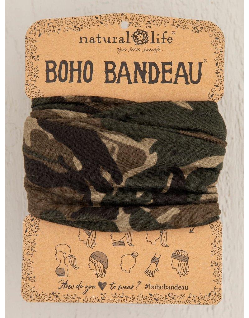 Natural Life Boho Bandeau - Olive Camo