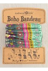 Natural Life Boho Bandeau - Green Stripe