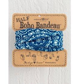 Natural Life Half Boho Bandeau - Navy Mandala