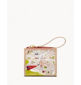 Spartina 449 Bay Dreams Clear Beach Wristlet