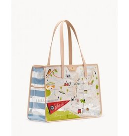 Spartina 449 Bay Dreams Clear Beach Tote