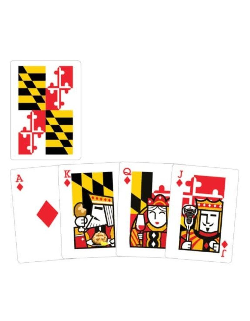 MarylandMyMaryland MD Playing Cards