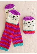 Natural Life Cozy Cat Socks