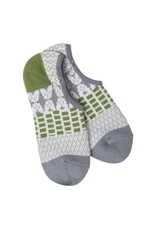 Crescent Sock Company Gallery Footsie Socks - Earthy