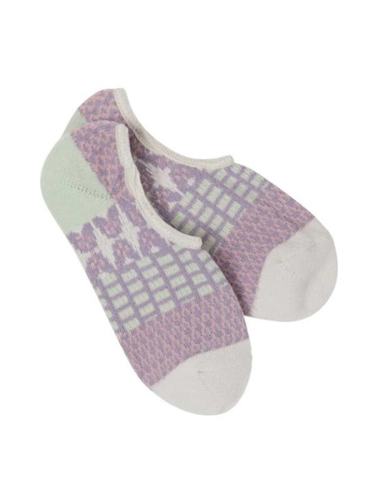 Crescent Sock Company Gallery Footsie Socks - Rainy Day