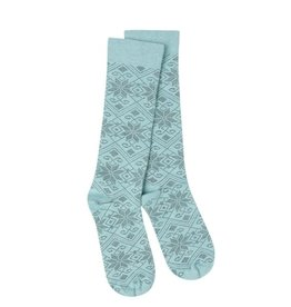 Crescent Sock Company Snowfall Crew Socks - Peacock