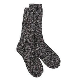 Crescent Sock Company Ragg Crew Socks - Nightfall