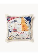 Spartina 449 Bay Dreams Embroidered Pillow