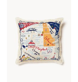 Spartina 449 Bay Dreams Embroidered Pillow