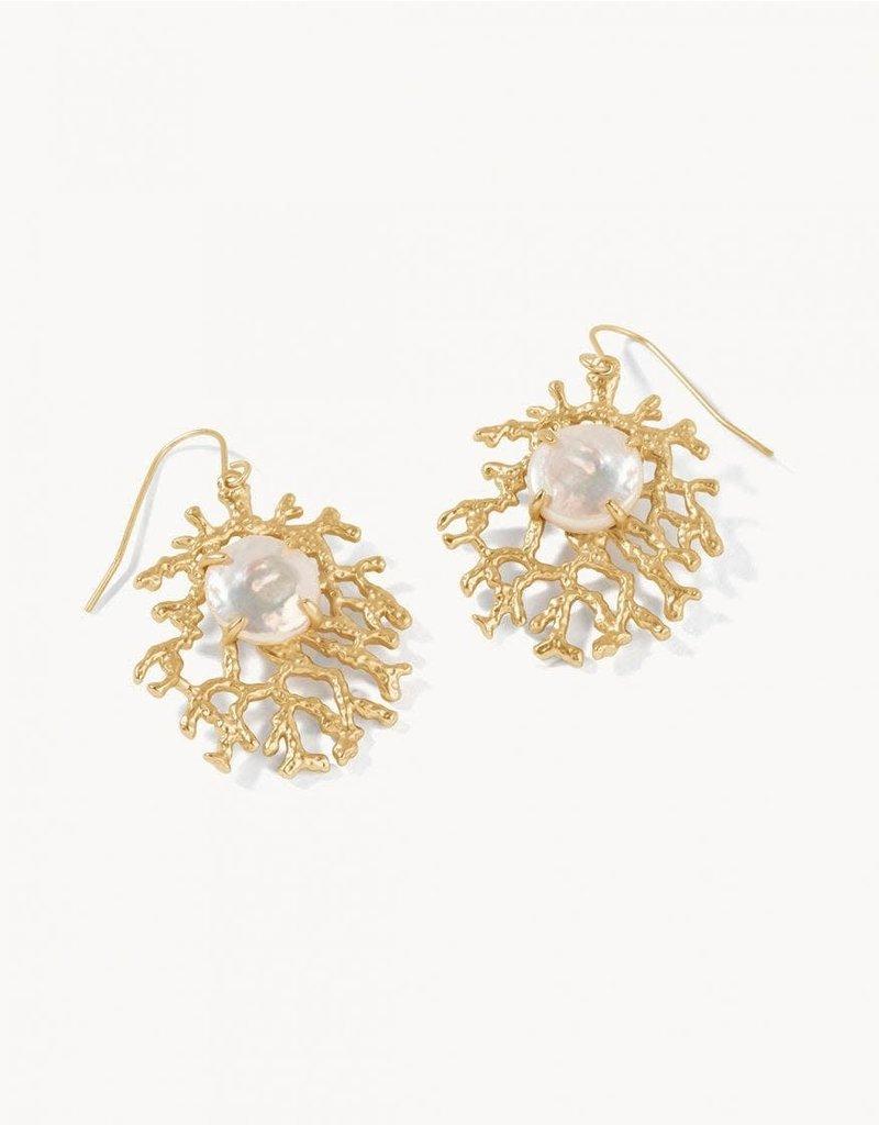 Spartina 449 Coral Treasure Earrings