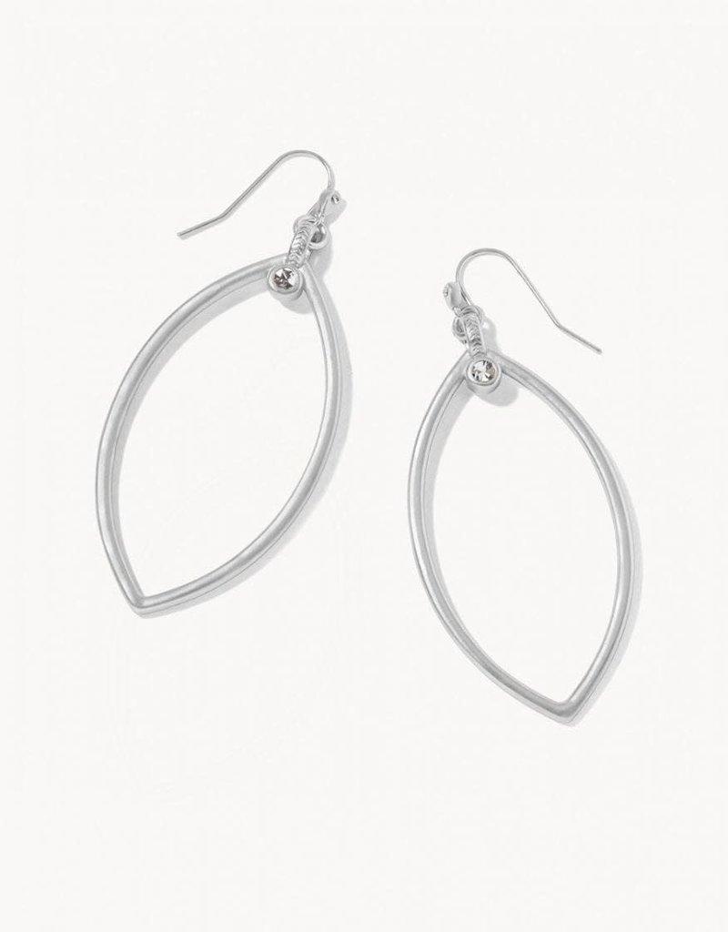 Spartina 449 Petal Earrings - Silver
