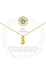 Spartina 449 Sea La Vie Thanks Necklace
