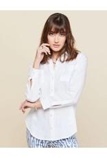 Spartina 449 Callie Linen Shirt - Pearl White
