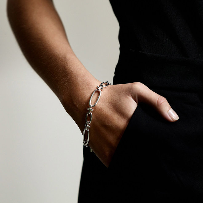 Pilgrim Wisdom Chain Link Bracelet