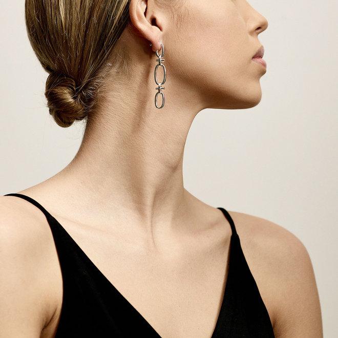 Pilgrim Wisdom Chain Link Earrings