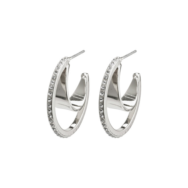 Pilgrim Beauty Crystal Hoops
