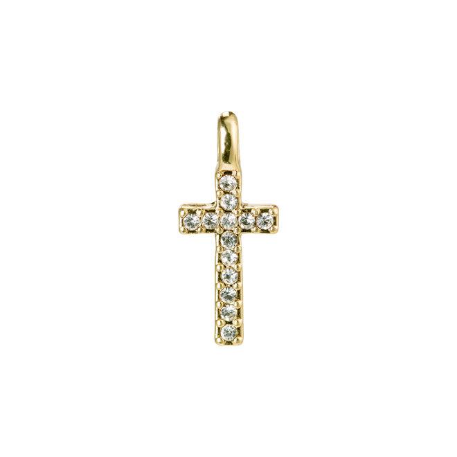 Pilgrim Pendant Crystal Cross