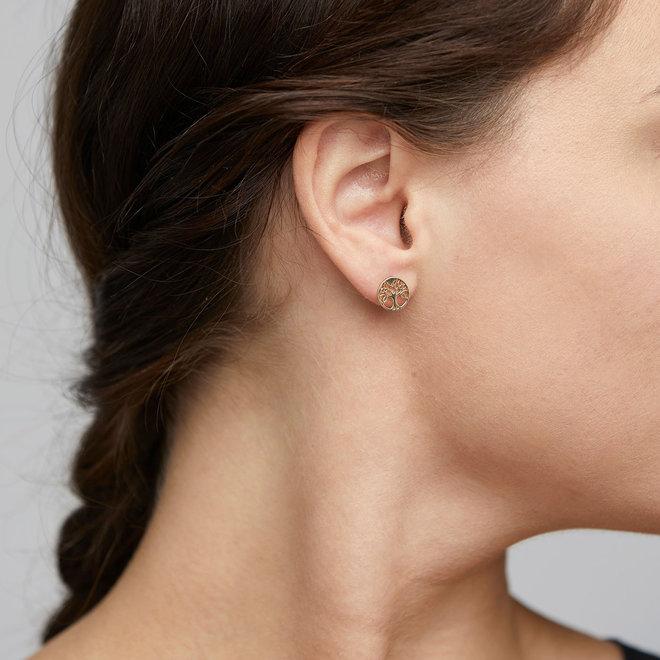 Petites boucles d'oreilles Pilgrim Yggdrasil