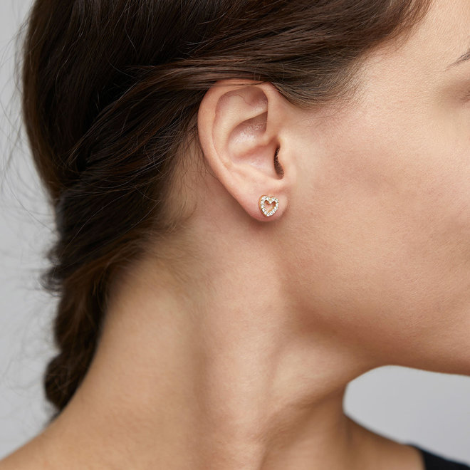 Petites boucles d'oreilles cristal Pilgrim Edie