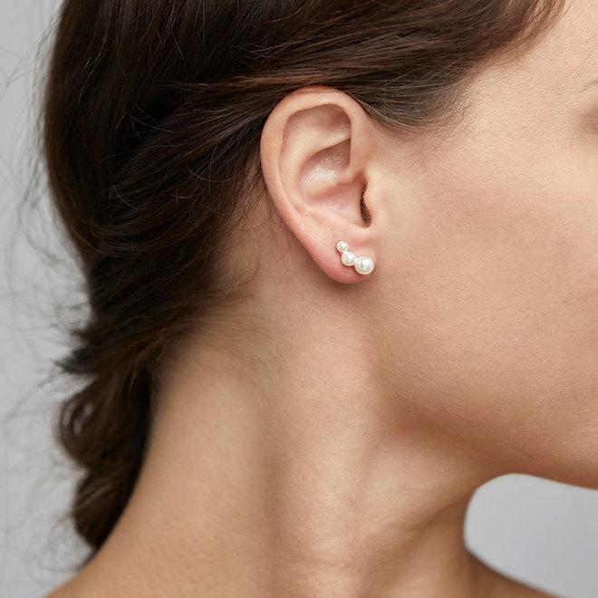Petites boucles d'oreilles de perle Pilgrim Johanna