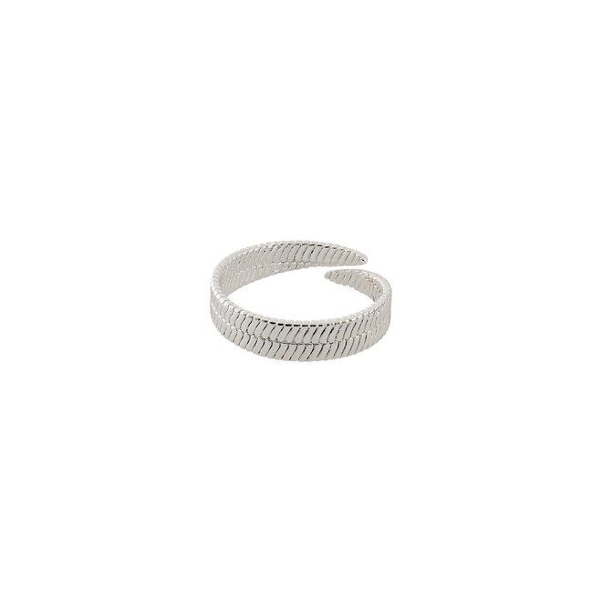 Pilgrim Snake Chain Ring